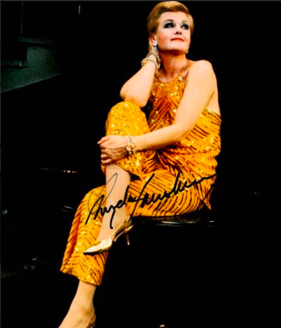 Angela Lansbury Autograph by Fanmail TTM