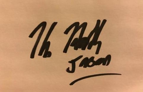 Kane Hodder Autograph by Fanmail TTM