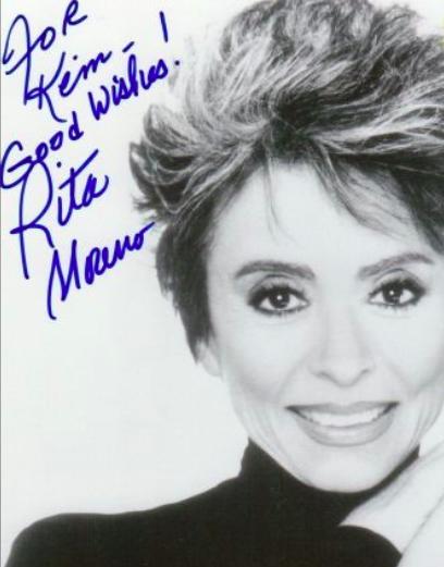 Rita Moreno Autograph by Fanmail TTM