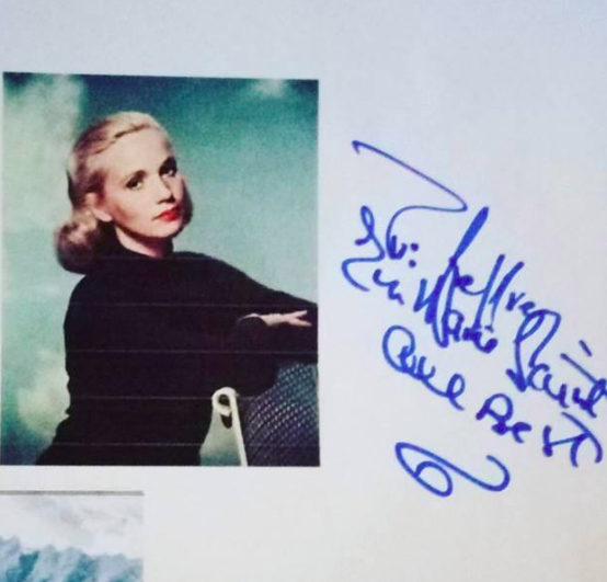 Eva Marie Saint Autograph by Fanmail TTM