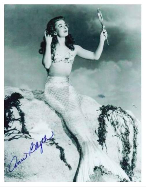 Ann Blyth Autograph by Fanmail TTM