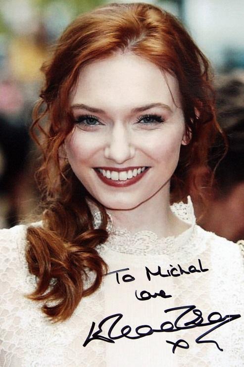 Eleanor Tomlinson Autograph by Fanmail TTM