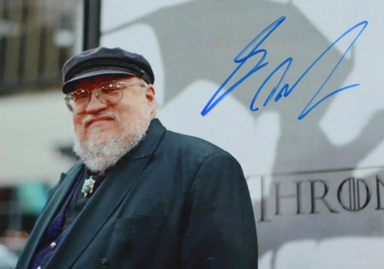 George R.R. Martin Autograph by Fanmail TTM