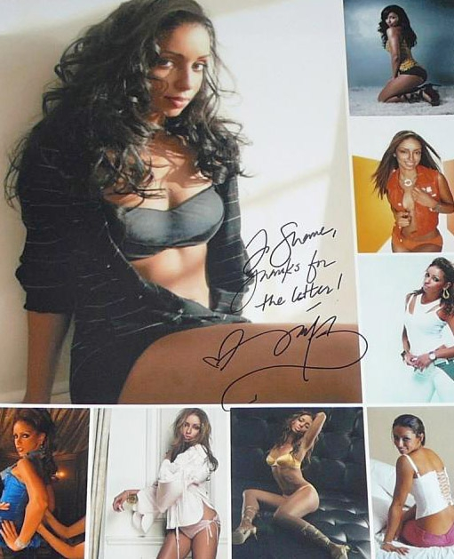 Mya Autograph by Fanmail TTM