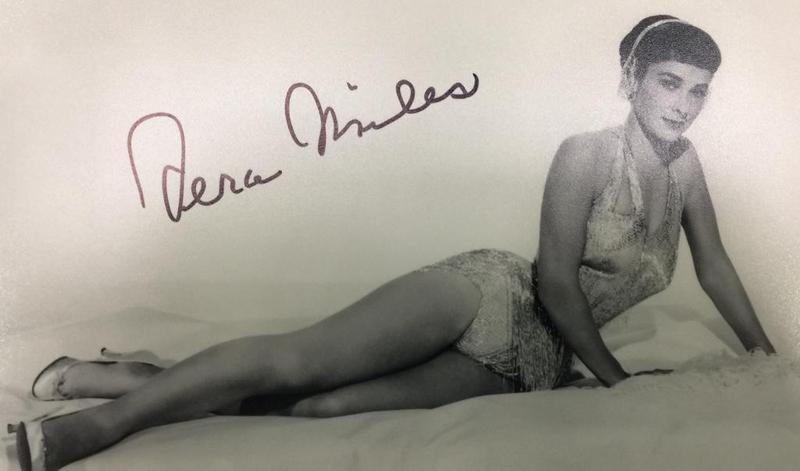 Vera Miles Autograph by Fanmail TTM