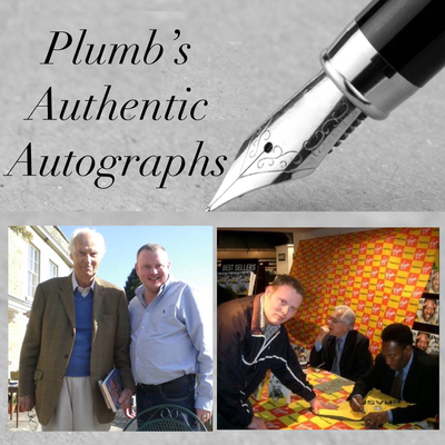 Plumb's Authentic Autographs - Jonathan Plumb