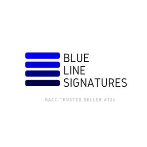 Blue Line Signatures