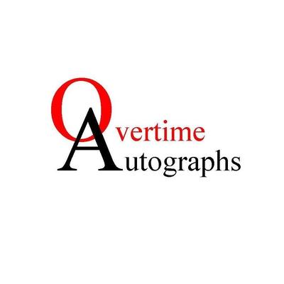 Overtime Autographs - Steve Hardy