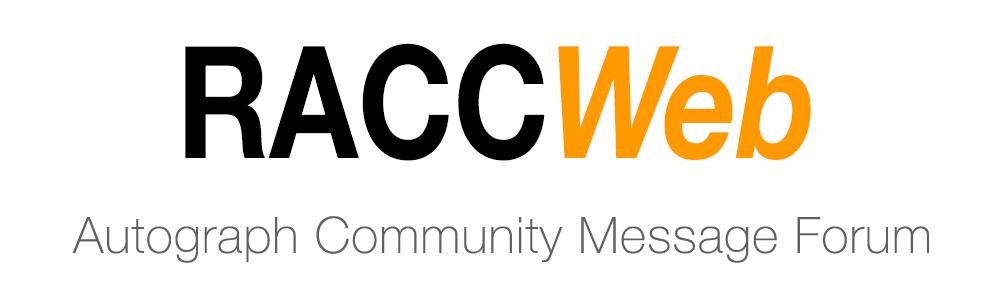 Autograph Community Message Forum