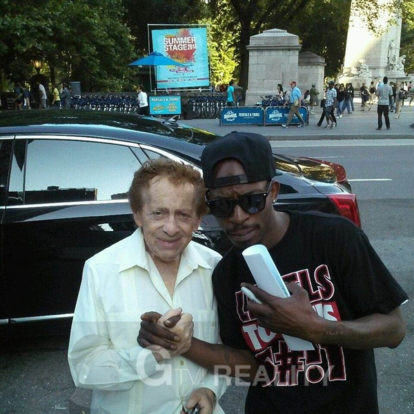 Jackie Mason Photo with RACC Autograph Collector GTV Reality