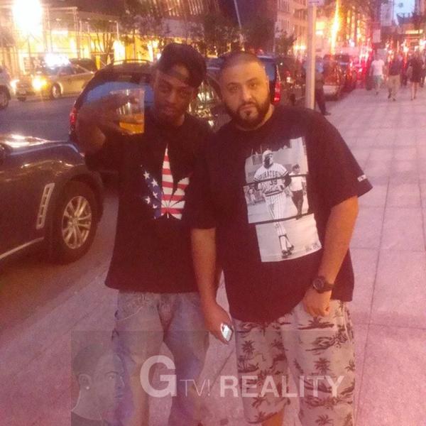 DJ Khaled Photo with RACC Autograph Collector GTV Reality