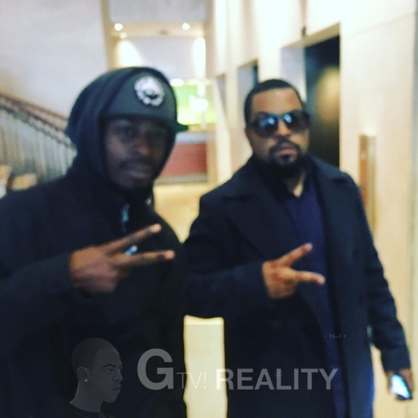 Ice Cube Photo with RACC Autograph Collector GTV Reality