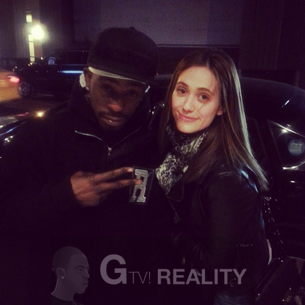 Emmy Rossum Photo with RACC Autograph Collector GTV Reality
