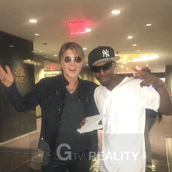 Johnny Rzeznik Photo with RACC Autograph Collector GTV Reality
