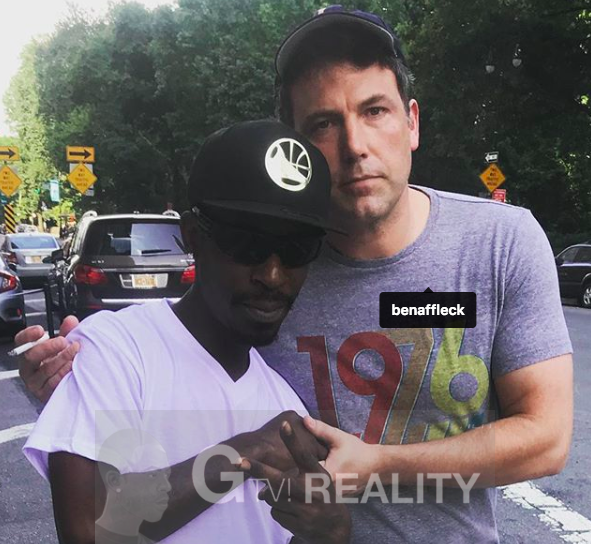 Ben Affleck Photo with Authentic Autograph Dealer GTV Reality