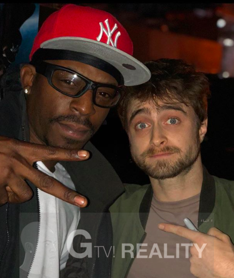 Daniel Radcliffe Photo with Authentic Autograph Dealer GTV Reality