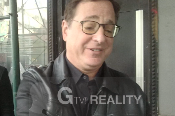 Bob Saget Proof Signing Photo by Authentic Autograph Dealer GTV Reality