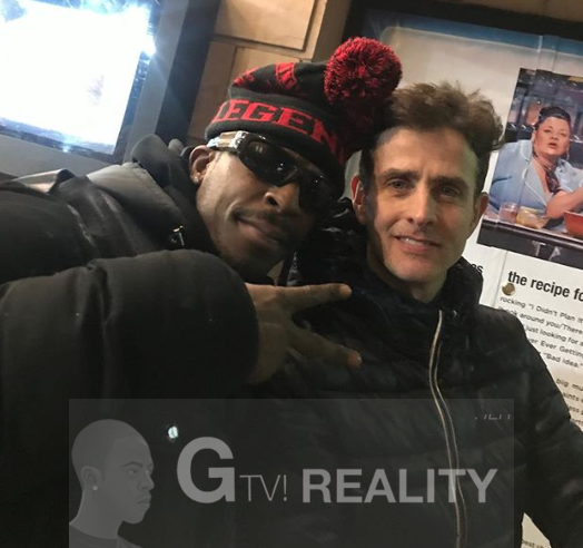 Joey McIntyre Photo with Authentic Autograph Dealer GTV Reality
