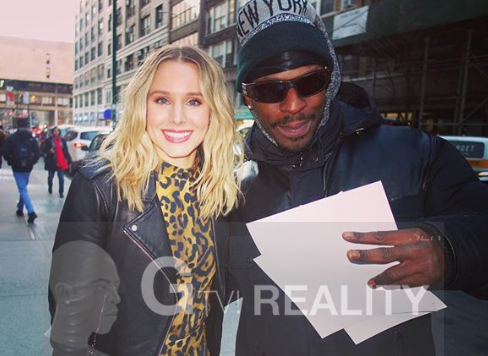 Kristen Bell Photo with Authentic Autograph Dealer GTV Reality