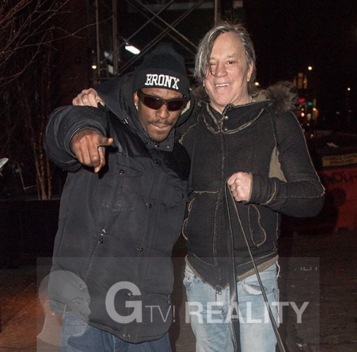 Mickey Rourke Photo with Authentic Autograph Dealer GTV Reality