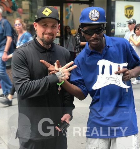 Benji Madden Photo with RACC Autograph Collector GTV Reality