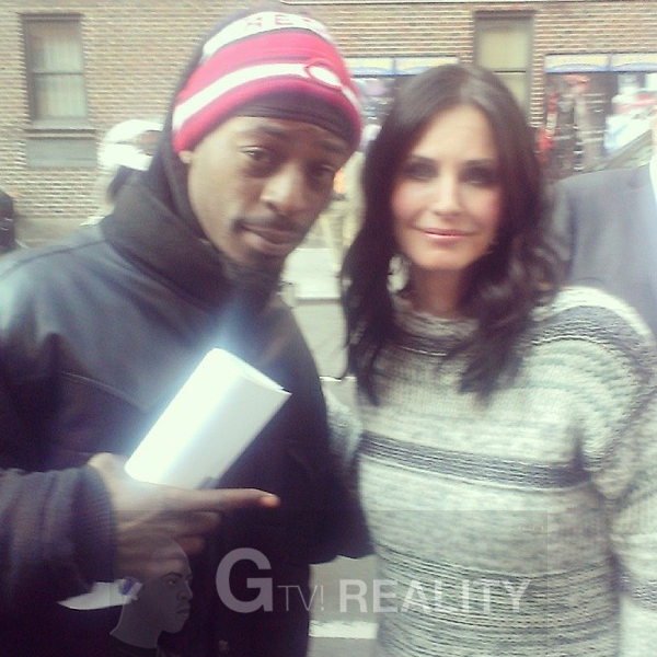 Courteney Cox Photo with RACC Autograph Collector GTV Reality