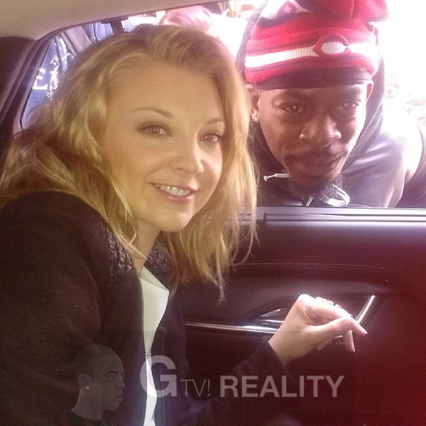 Natalie Dormer Photo with RACC Autograph Collector GTV Reality