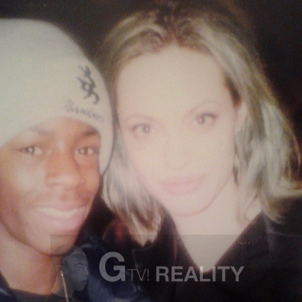 Angelina Jolie Photo with RACC Autograph Collector GTV Reality
