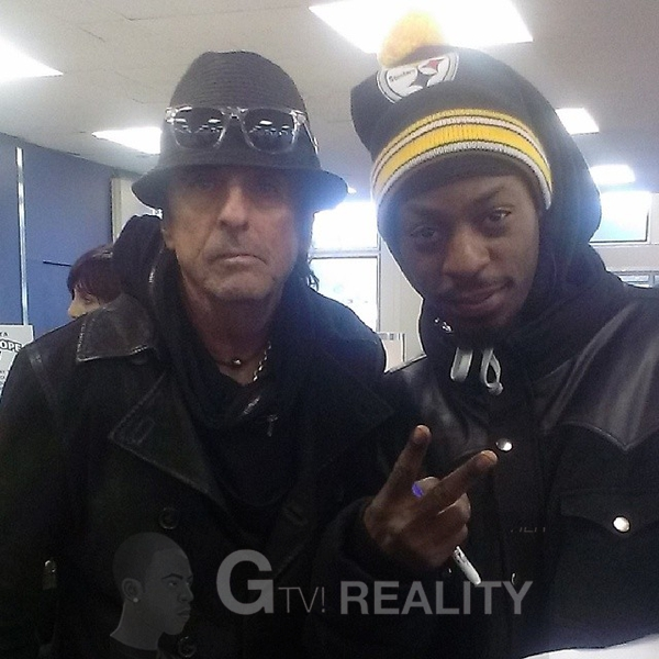 Alice Cooper Photo with RACC Autograph Collector GTV Reality