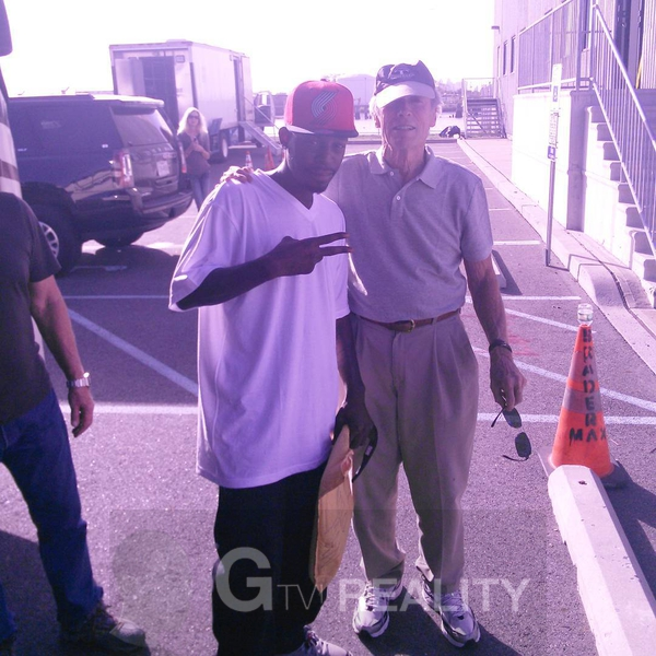 Clint Eastwood Photo with RACC Autograph Collector GTV Reality