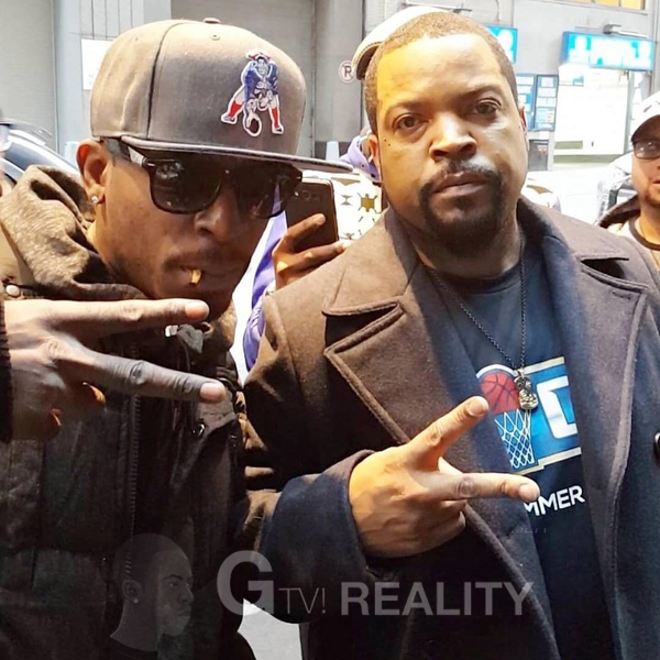 Ice Cube Photo with Authentic Autograph Dealer GTV Reality