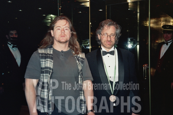 Steven Spielberg Photo with RACC Autograph Collector John Brennan
