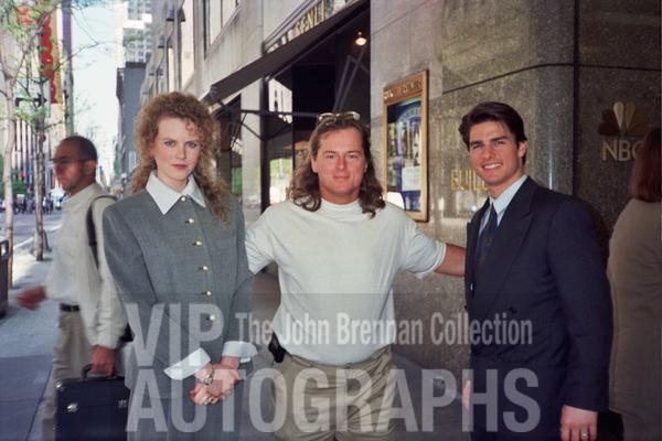 Nicole Kidman Photo with RACC Autograph Collector John Brennan
