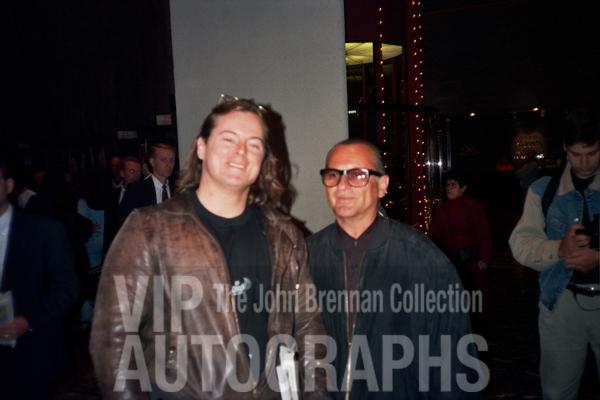 Joe Pesci Photo with RACC Autograph Collector John Brennan