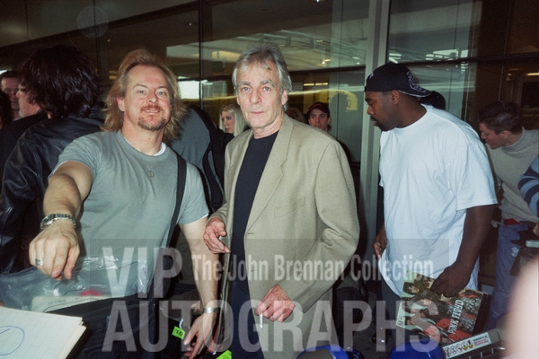 Richard Wright Photo with RACC Autograph Collector John Brennan