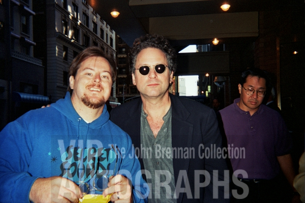 Lindsey Buckingham Photo with RACC Autograph Collector John Brennan