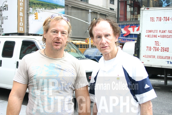 Robby Krieger Photo with RACC Autograph Collector John Brennan